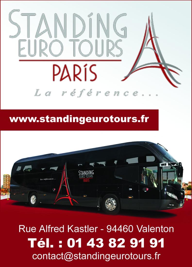 9 10 11 janvier 2018 standing euro tours