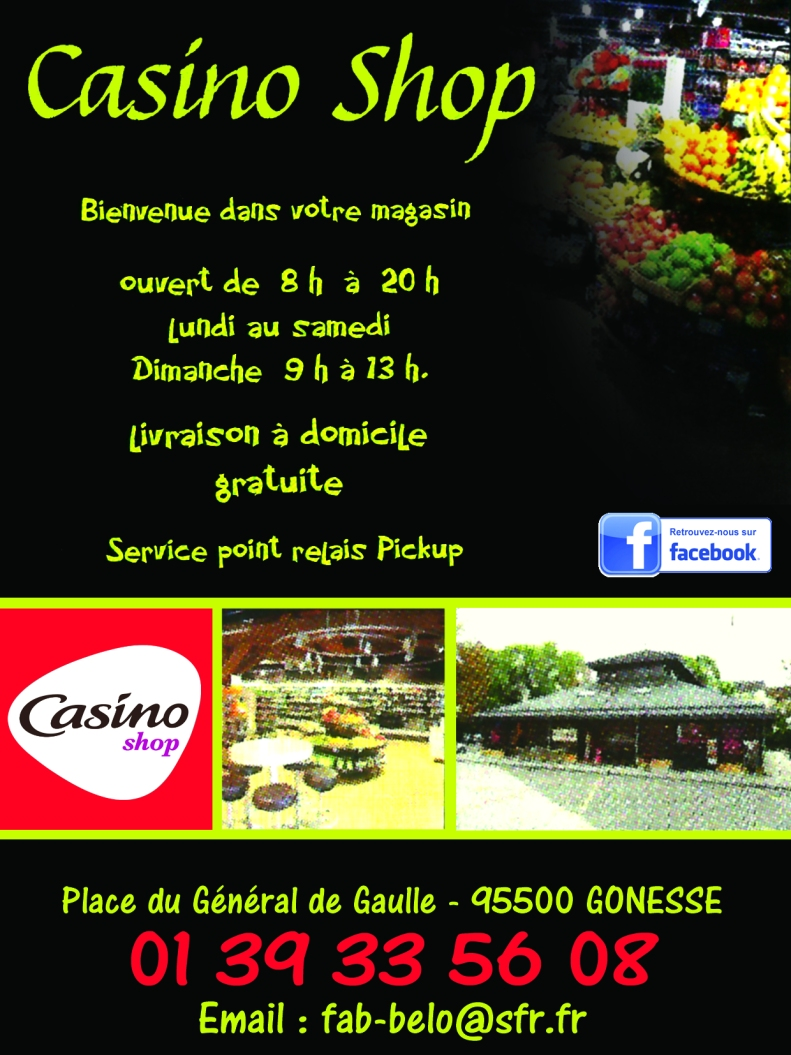 2 CASINO SHOPPING 29 au 31 10 17 et 14 15 16 FEVRIER 2019
