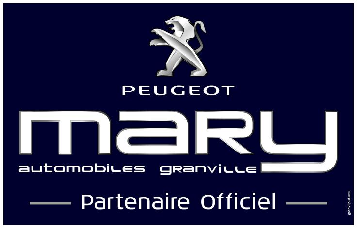 PEUEGOT SPONSOR OFFICIEL MARY GRANVILLE