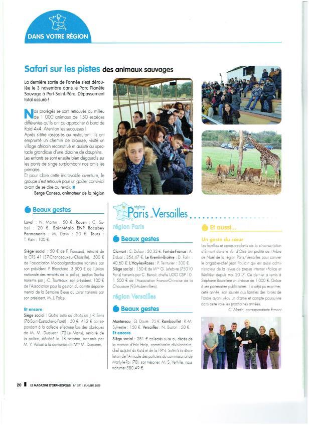 Copie magazine Orpheopolis de janvier 2019