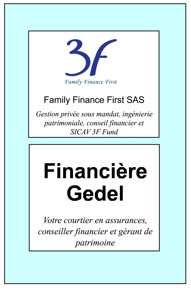 DU 22.03.20 AU 11 05 - Pub Family Finance First Financière Gegel - quart page